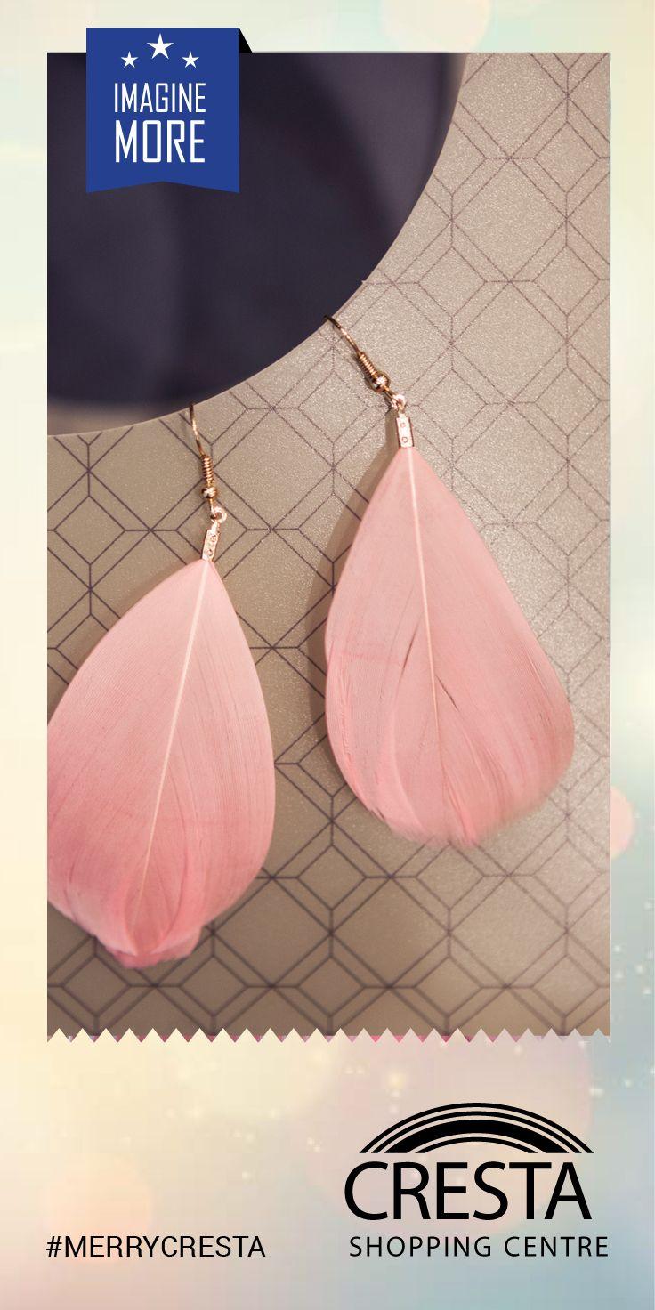 Feather Drop Earrings from Lovisa Cresta Centre @R150.00 #MerryCresta #Feathers #Earrings
