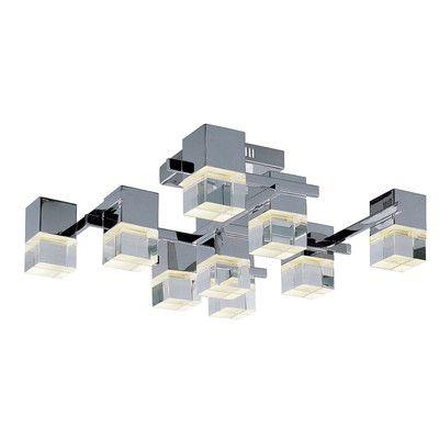 ET2 Nova LED 9-Light Flush Mount & Reviews | Wayfair | $1000