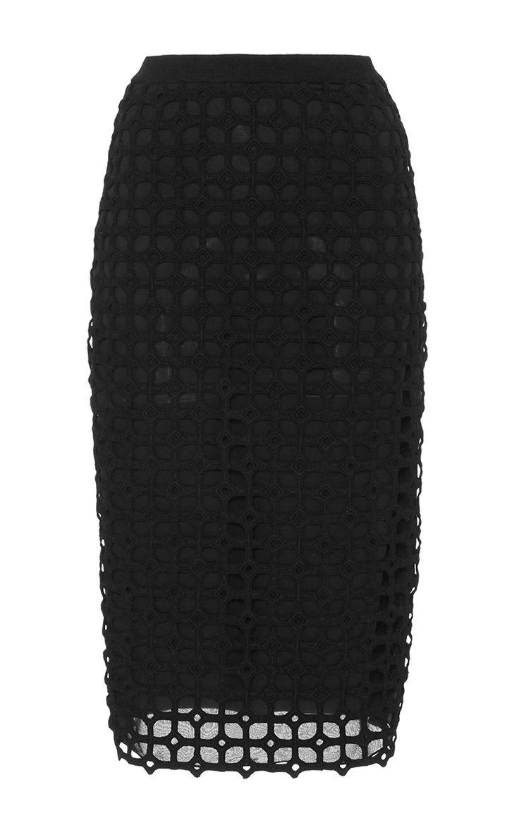 LELA ROSE Knit Pencil Skirt. #lelarose #cloth #skirt