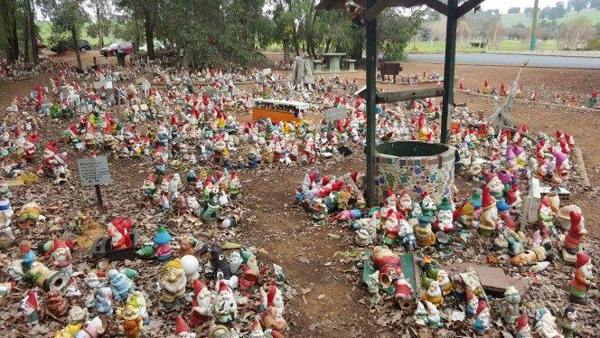 Gnomesville. Western Australia