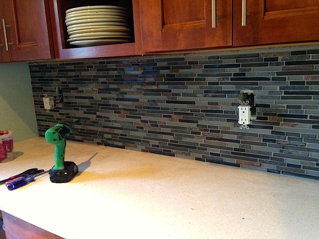 Countertops And Backsplash Loweu0027s Home Improvements Diy Kitchen Project