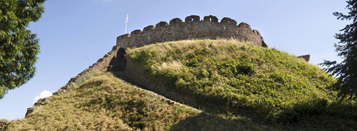 The Totnes Castle is a fantastic English Heritage Landmark
