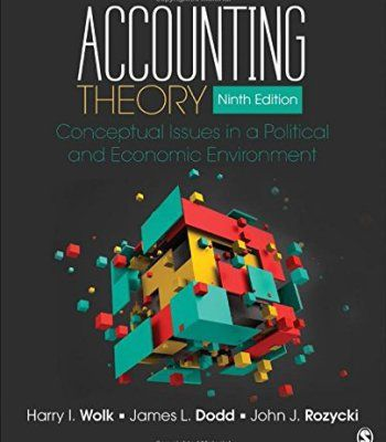 Accounting Theory: Conceptual Issues in a Political and Economic Environment PDF