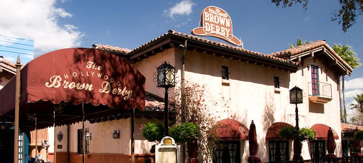 The Hollywood Brown Derby in Walt Disney World is literally my favorite restaurant in the entire world. COBB SALAD!