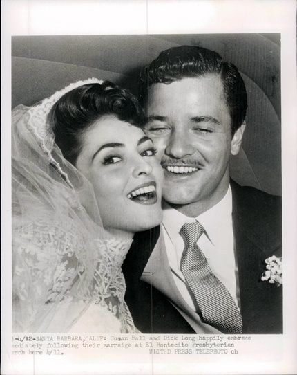 Singer/Actress Suzan Ball and actor Richard Long were married only 14 months when she died of cancer in 1955. Description from pinterest.com. I searched for this on bing.com/images