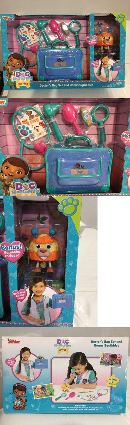 Doctor Nurse Kits 158741: Disney Doc Mcstuffin S Pet Vet Bag Set With Bonus Squabbles -> BUY IT NOW ONLY: $32.35 on eBay!