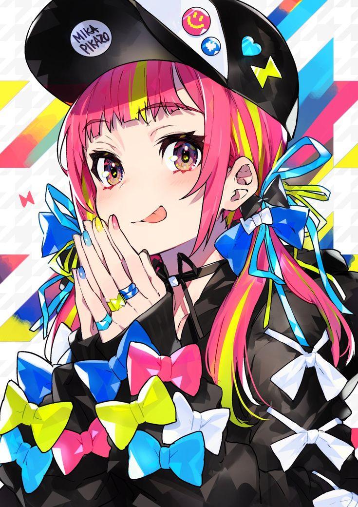 Mika Pikazo on Twitter in 2020   Anime art girl, Kawaii art, Anime