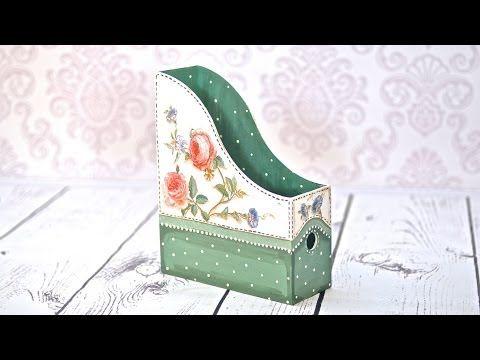 Decoupage krok po kroku - kasetka z aniołkiem - YouTube