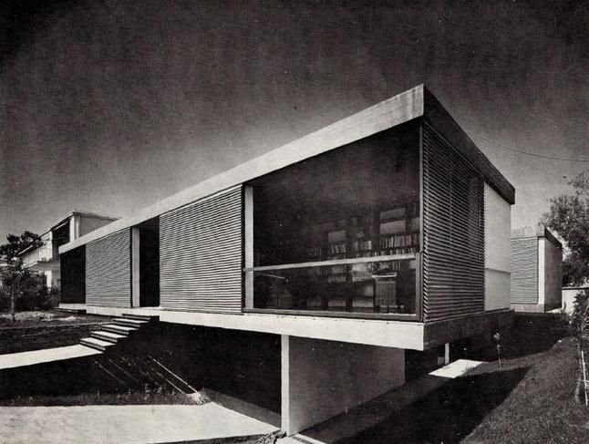 #Grece #architecture...Takis Ch. Zenetos | Residence #Psychico, 1960