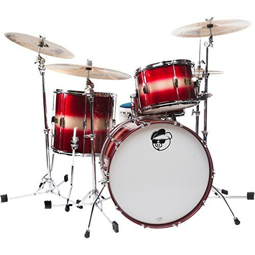 Pork Pie Hip Pig 3Piece Mahogany shell Pack with 22 Bass Drum RedGold Duco Finish >>> Click on the image for additional details.Note:It is affiliate link to Amazon. #fashion
