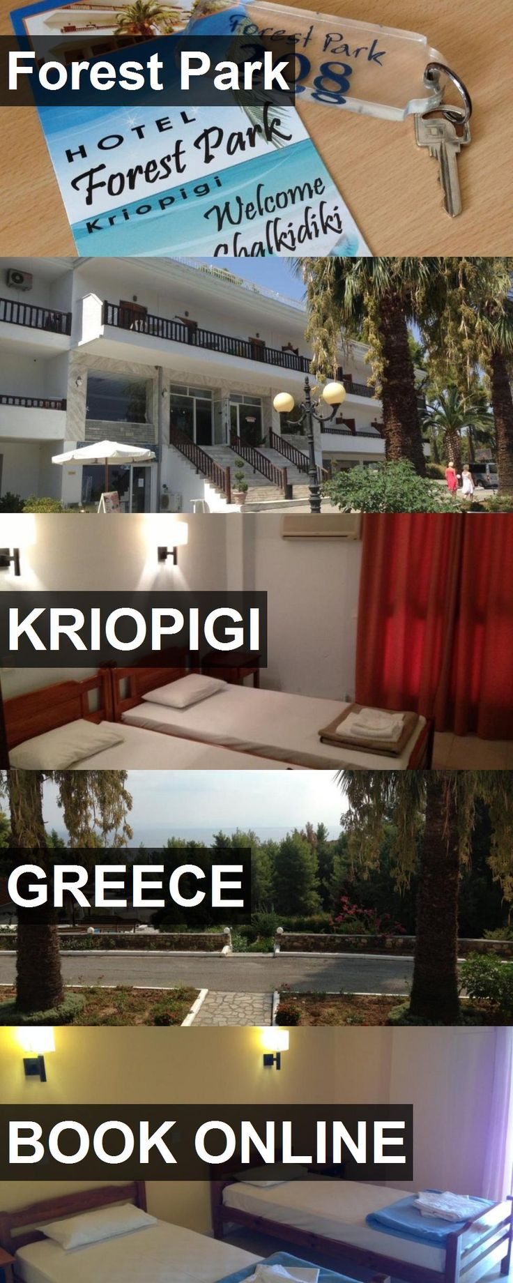Hotel Forest Park in Kriopigi, Greece. For more information, photos, reviews and best prices please follow the link. #Greece #Kriopigi #travel #vacation #hotel