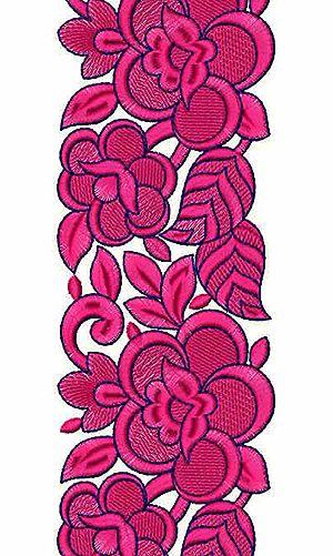 Tahari Skirt Embroidery Lace Design