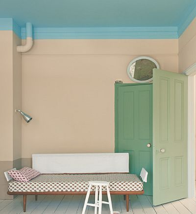 farrow & ball blue ground