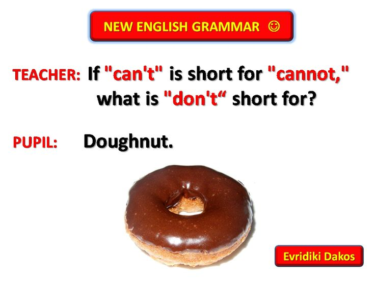 English grammar joke | English Jokes | Pinterest | Grammar ...