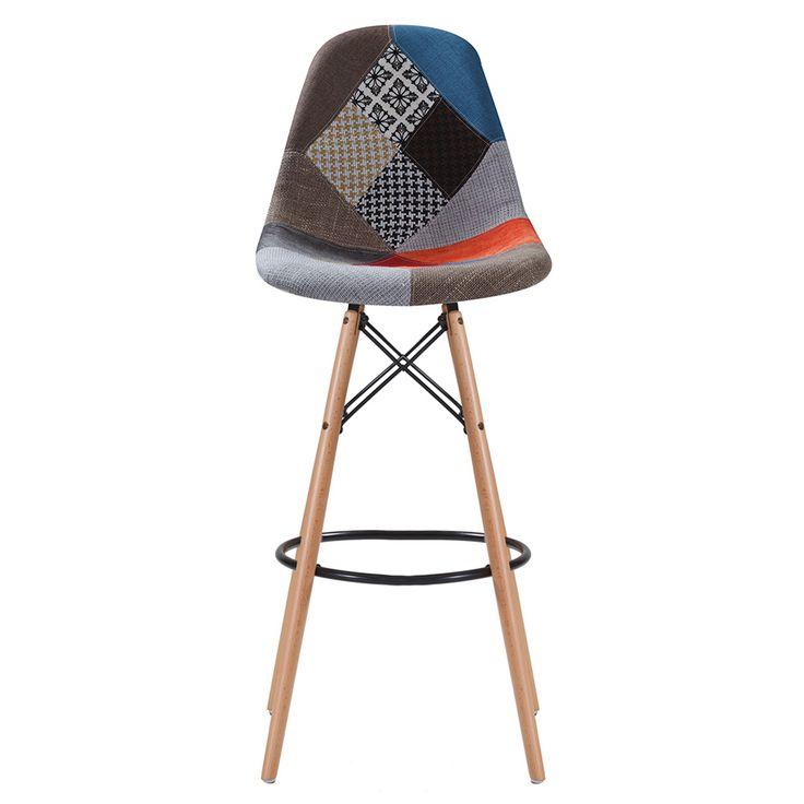 Mobexpert scaun de bar multi Patch