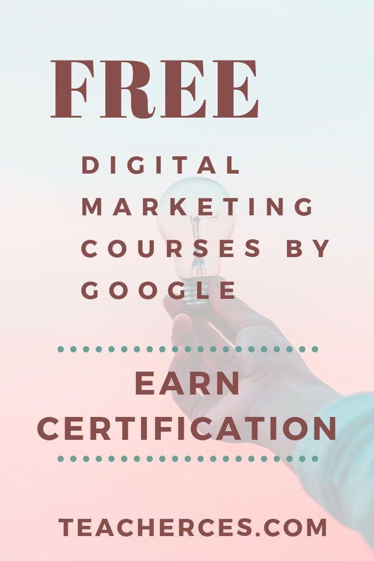 Free Digital Marketing Certification By Google Digital Garage