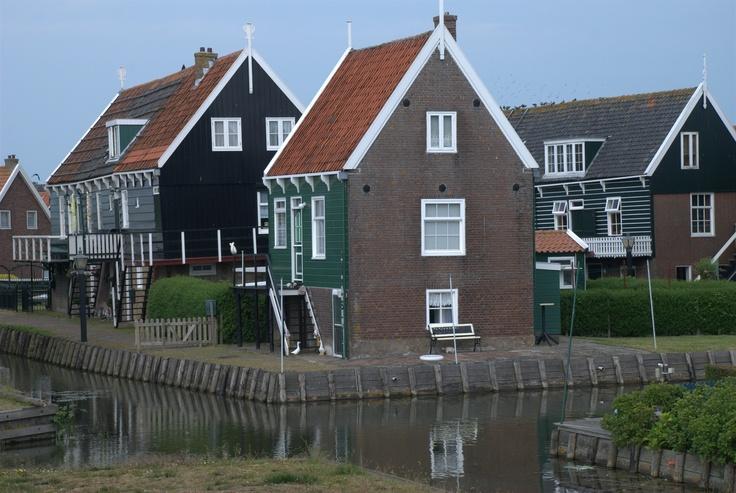 Olanda - case di Volendam