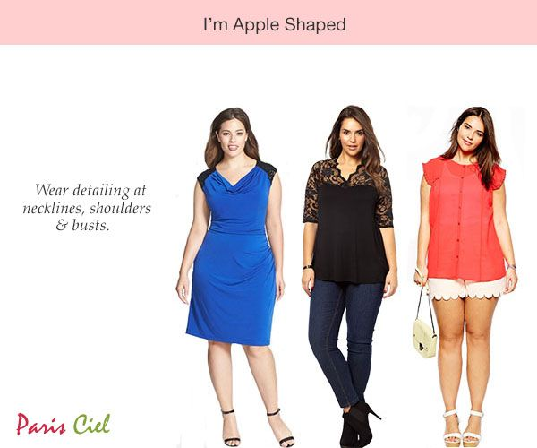 Tips & Tricks To Dressing Apple Body Shape (blue dress, lace top)