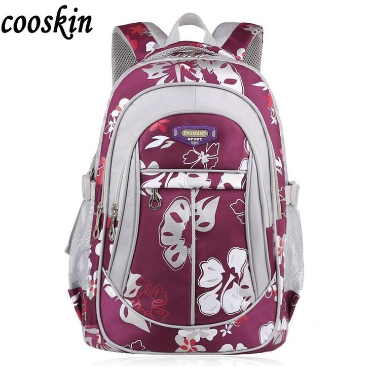 New School Bag Branded Women Backpack Fashion Shoulder Girls Teenager Bag Nylon