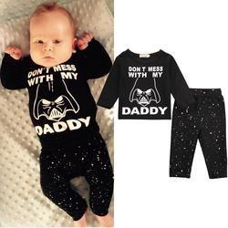 Star Wars Long Sleeve Cotton T-shirt + Long Pants - Baby Swift