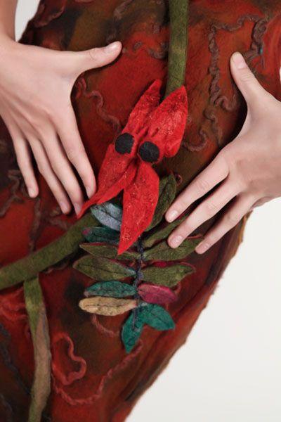 Lorraine McArthur, The Blood Flower 3 . Photographer Michael Kelly, Star Creations