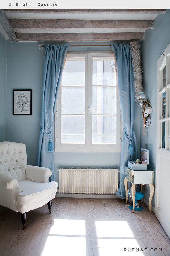 Identifying 12 of the most popular interior design styles english country rue window for Most successful interior designers
