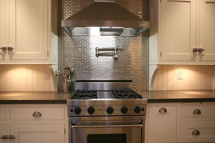 Stainless Steel Backsplash Tiles Pictures Ideas From: 17 Best Backsplash For Stove Images On Pinterest