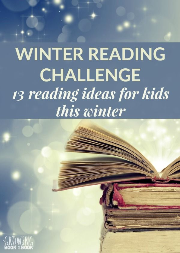 A winter reading challenge for kids, families, and classrooms to promote and motivate kids to read. #reading #readingchallenge #childrensbooks