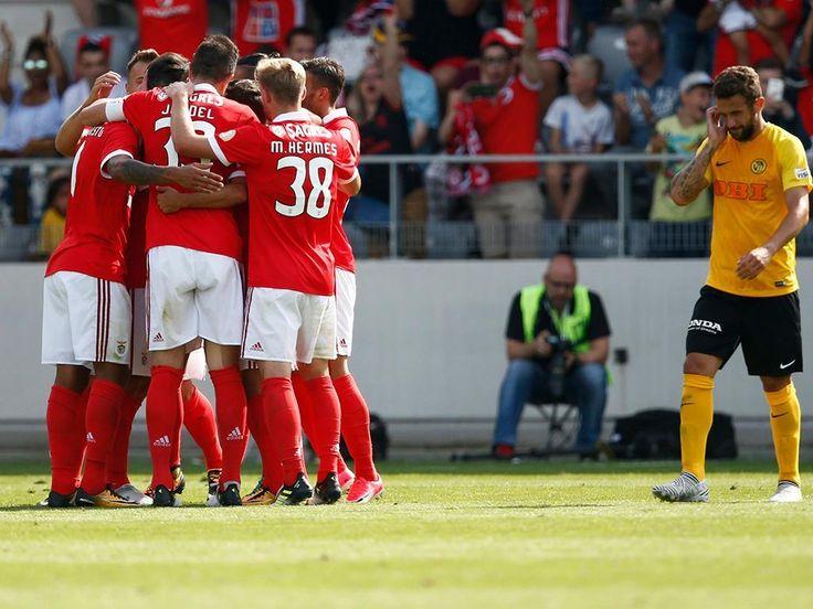 Benfica: Jardel, Felipe Augusto e Seferovic entre os mais utilizados   Maisfutebol.iol.pt - Rui Vitória «testou» trinta jogadores nos quatro jogos realizados na pré-temporada
