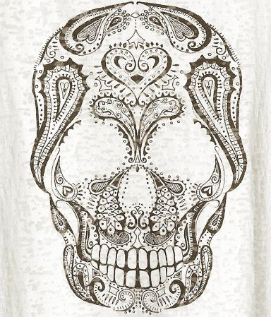 henna skull design sugar skulls pinterest sugar skull design awesome tattoos and skull design. Black Bedroom Furniture Sets. Home Design Ideas
