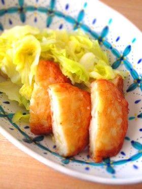 キャベツとさつま揚げ簡単煮物柚子胡椒風味 by shimaru [クックパッド ...