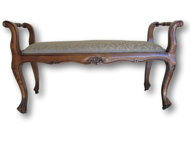 picture perfect furniture. rubylaneocm this vintage wood carved bench with upholstered seat is a perfect piece for your picture furniture