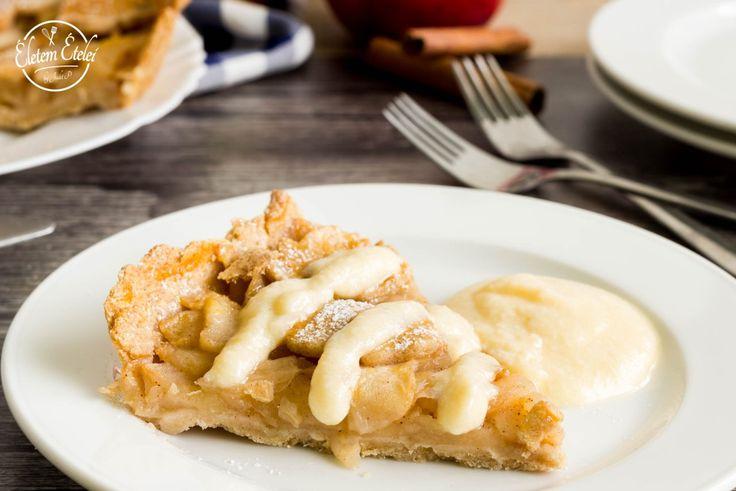 Almás pite vaníliahabbal (cukor-és gluténmentes)