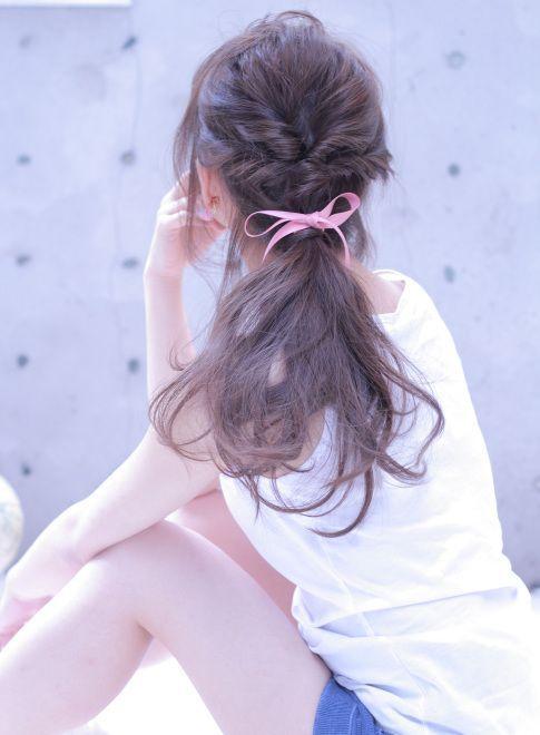 髪の量が多い人必見♡ヘアアレンジ☆ショート・ミディアム・ロング | 美人部