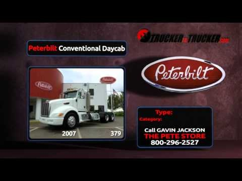 Peterbilt Daycab Trucks For Sale   http://www.truckertotrucker.com/trucking/peterbilt-conventional-daycab-trucks.cfm  Shop Pete Daycab trucks for sale online at Trucker To Trucker. Excellent selection and simple shopping with listings from Peterbilt truck dealers, independent truck dealers and owner operators in the USA and Canada. New and used trucks for sale!