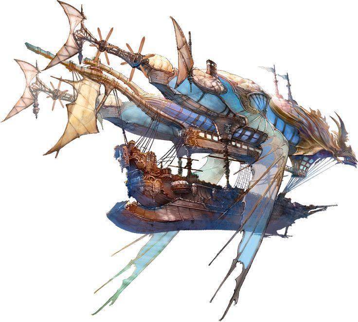 Steampunk Airship.