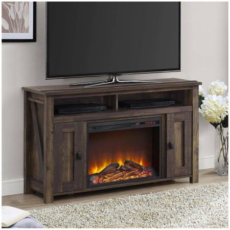 Altra Falls Creek Media Fireplace for TVs up to 50 inch, Multiple Colors, Green