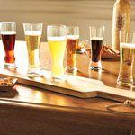 Beer Tasting Flight - 7 Piece Set