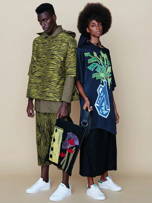 """superselected: """" Editorials. Oluwatoyin Oyeneye and Monique Sterling. Elle South Africa April 2016. Images by Ricardo Simal. """""""