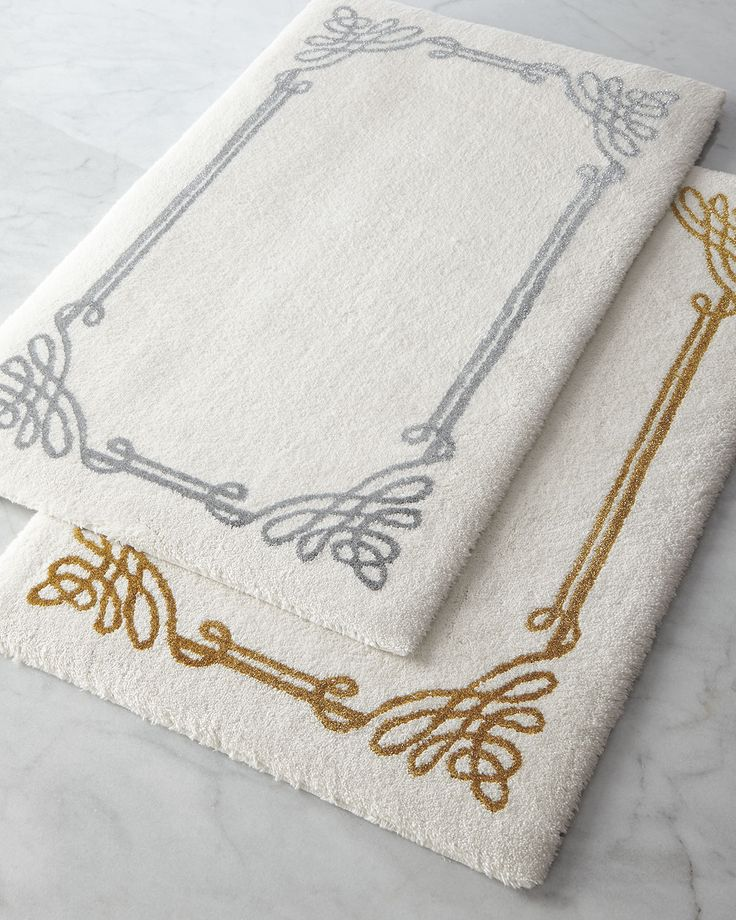 17 best images about bathroom accessories bath mats for Bathroom decor rugs