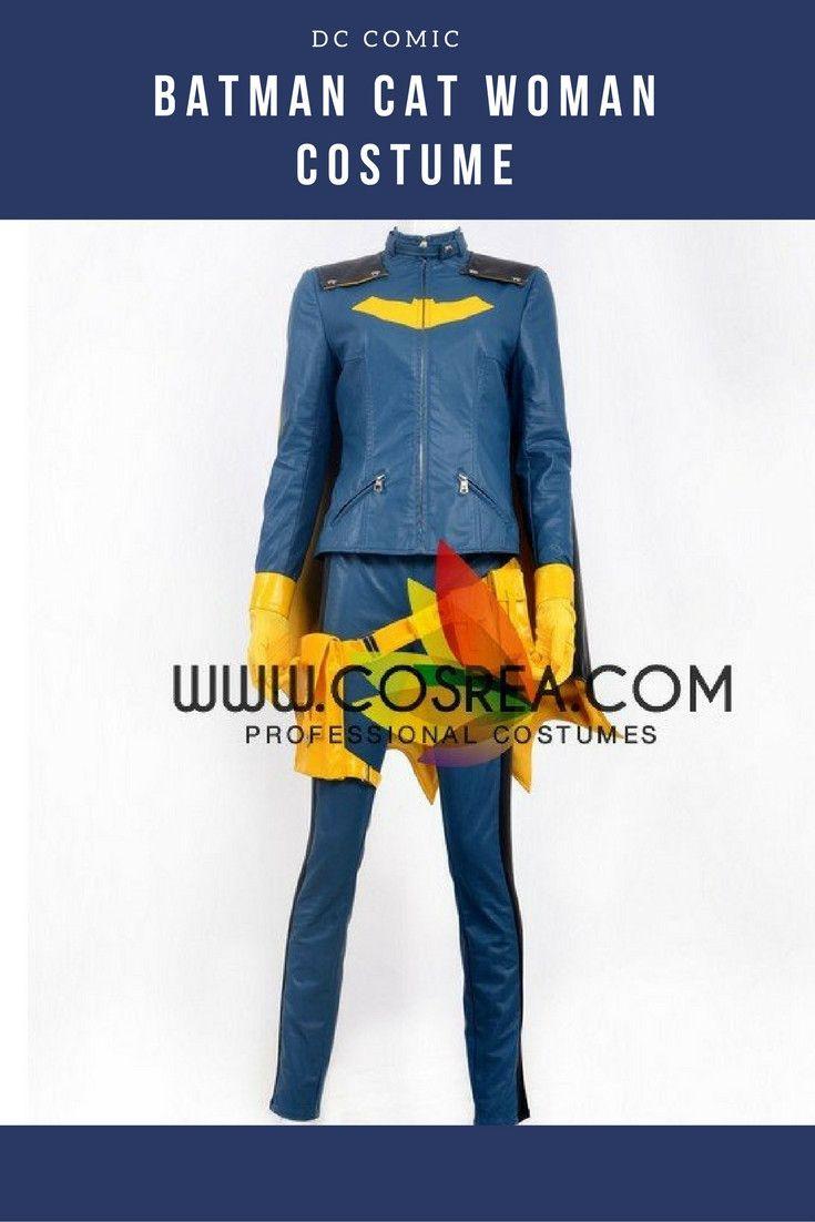 Batman Cat Woman Cosplay Costume