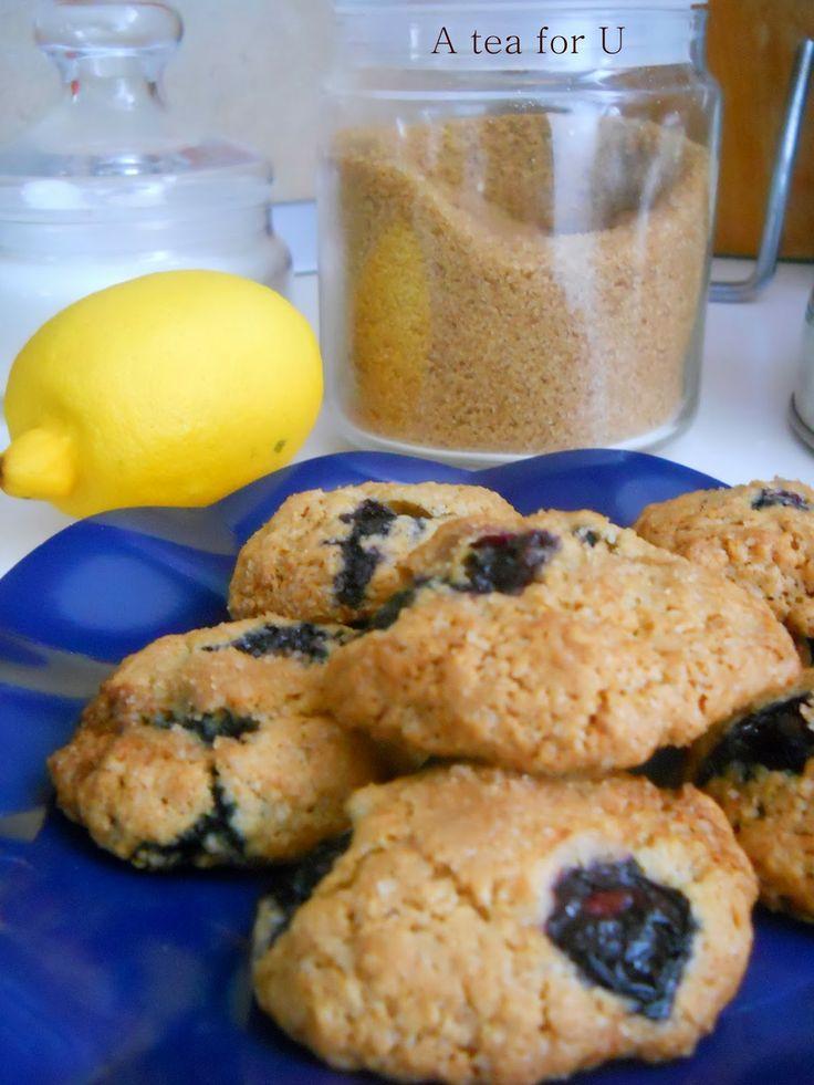 Biscotti ai mirtilli e cocco | A Tea for U