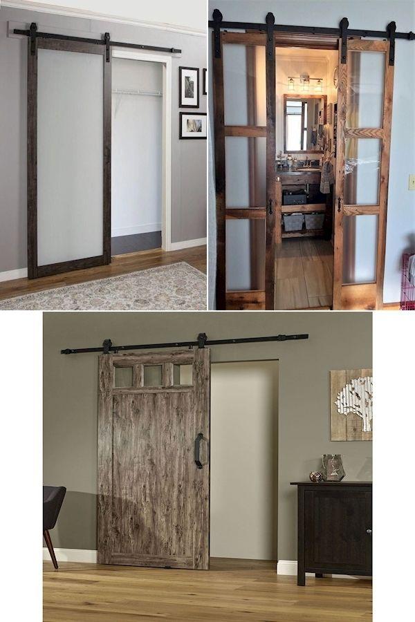 Interior Sliding Barn Door Hardware Sliding Barn Door Style Closet Doors Shaker Style Interior Doors In 2020 Interior Barn Doors Barn Door Doors