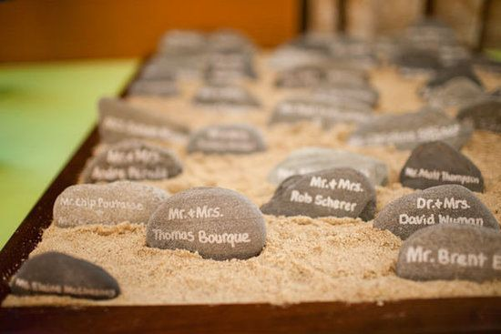 I am going to do this for placecards, so cool!