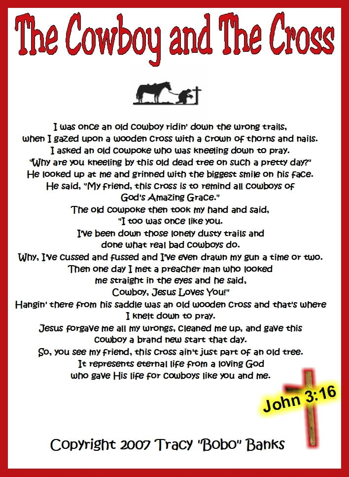 cowboy poems | SodaHead.com - AmmoLou (member: 1262055) - 59 - Male - NV, US