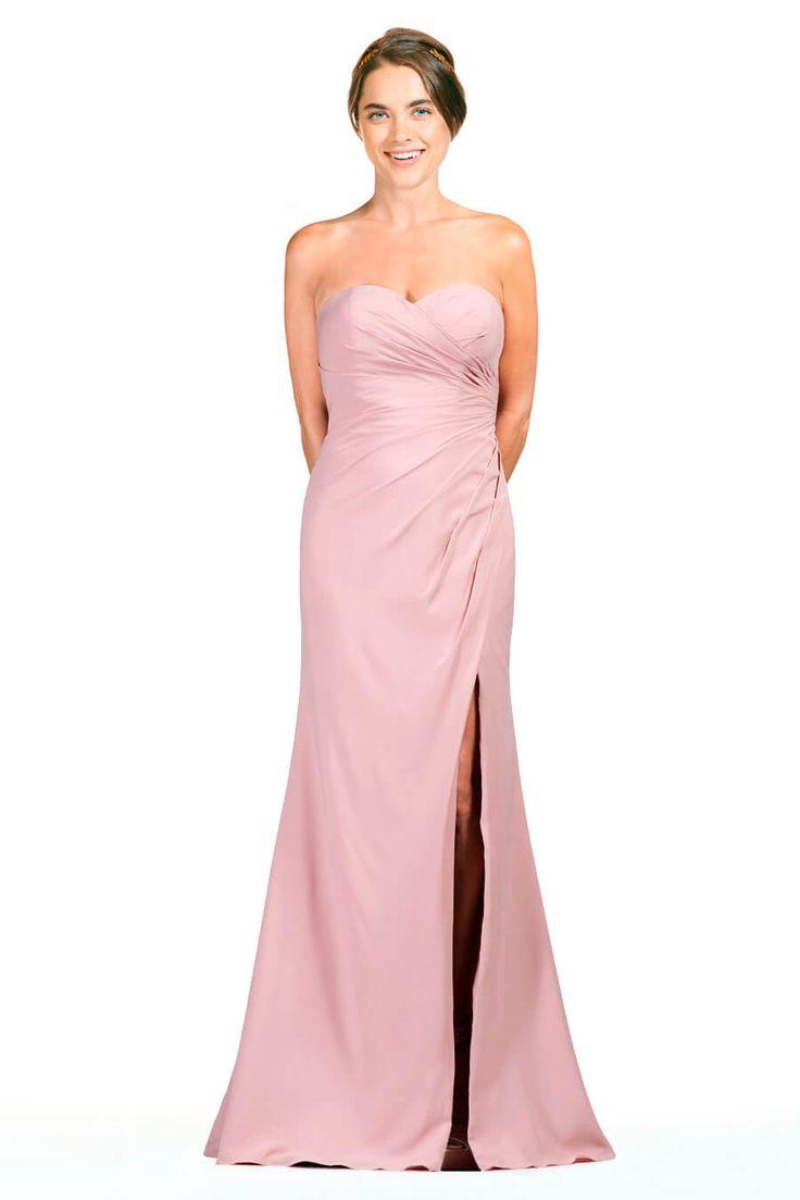 Lujoso Vestidos De Dama De Color Púrpura Y Naranja Friso - Colección ...