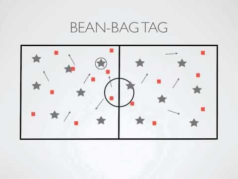 Physical Education Games - Bean-Bag Tag