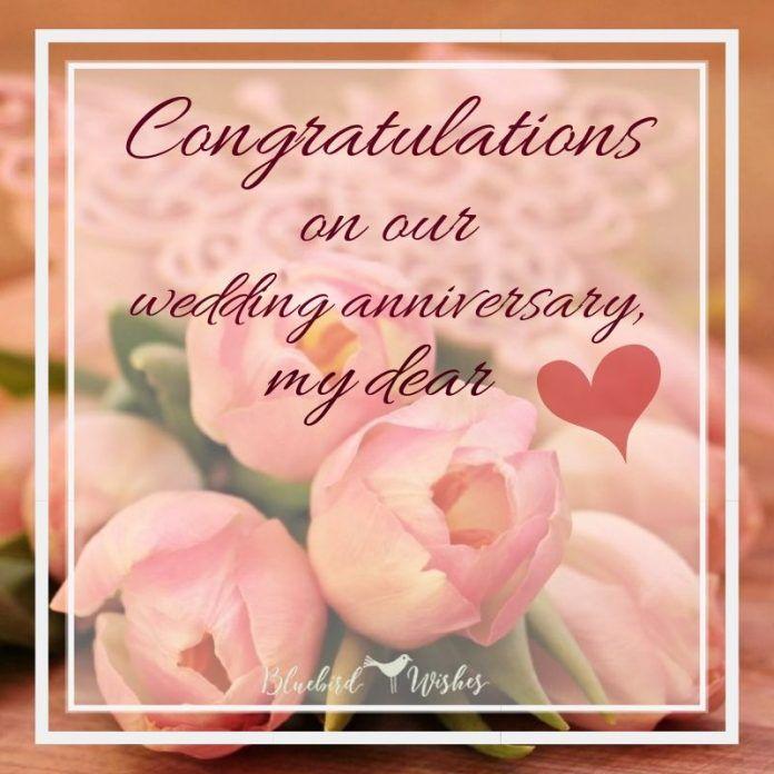 Wedding Anniversary Card For Wife Wedding Anniversary Message Anniversary Message Wedding Anniversary Greetings