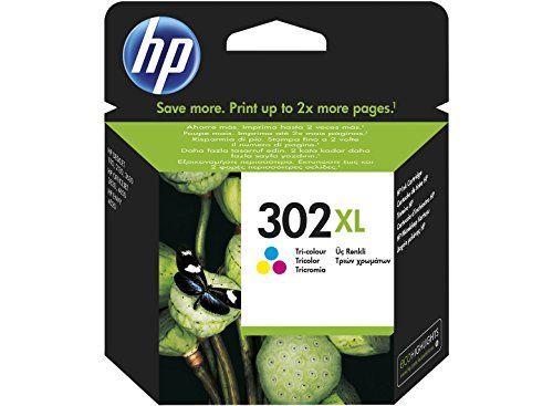 awesome HP 302XL High Yield Tri-color Original Ink Cartridge - Cartucho de tinta para impresoras (Cian, Magenta, Amarillo, Alto, 8 ml, 20 - 80%, -40 - 60 °C, 15 - 32 °C)