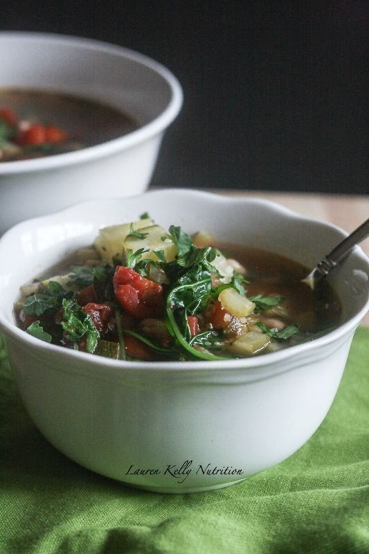 This Quinoa Vegetable Soup is healthy, vegan and packed with nutrition!